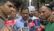 Delhi: CM Arvind Kejriwal meets auto-rickshaw driver thrashed by cops