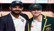 Sourav Ganguly feels Steve Smith has better records than Virat Kohli