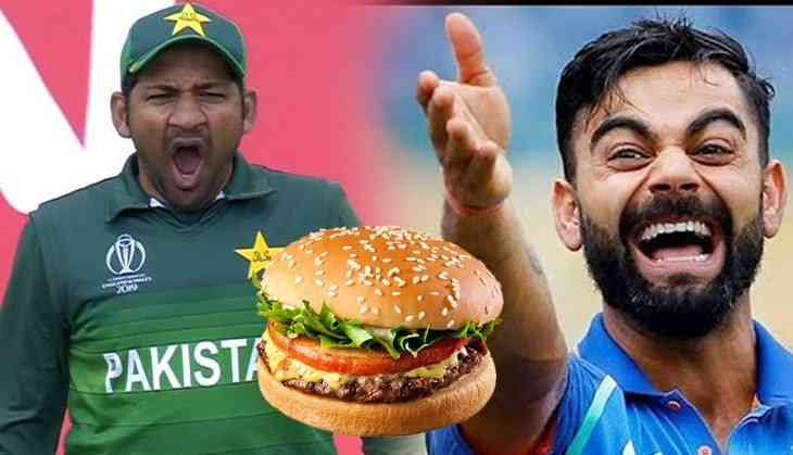 Pakistani fans troll national team and states 'Burger' is the reason behind defeat against India