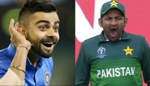 VIDEO: Virat Kohli mimics Pakistan captain Sarfraz Ahmed in between the match and it's too funny