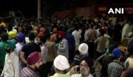 दिल्ली में सिख ड्राइवर पिटाई मामला, देर रात तक मुखर्जी नगर थाने में चला बवाल, भारी संख्या में फोर्स तैनात