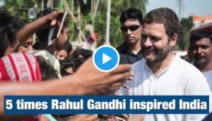 Rahul Gandhi Birthday Special: Congress shares RAGA's inspiring video; Twitterati say, 'Are you joking?'