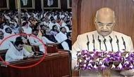 राष्ट्रपति दे रहे थे भाषण, राहुल गांधी करते रहे ऐसा काम, लोग बोले- कब सीरियस होगा ये आदमी?