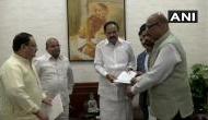 चंद्रबाबू नायडू को बड़ा झटका, TDP के चार राज्यसभा सांसदों ने थामा BJP का दामन