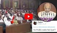 Video: Rahul Gandhi browsing phone during President Kovind's speech; Netizens ask, 'Ye PUBG wala hai kya??'