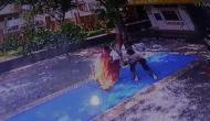 मंदिर में पूजा करने आई थी महिला, अचानक से धू-धूकर लगी जलने, देखकर खड़े हो गए रोंगटे