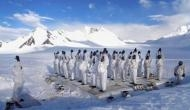 International Day of Yoga: Indian Army personnel perform asanas in Siachen