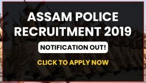 Assam Police Recruitment 2020: Over 6000 vacancies released for Constable post; apply before 6 January