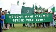 'We don't want Kashmir, give us Virat Kohli'-image goes viral after India-Pakistan match
