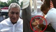 Video: योगी के मंत्री की बेशर्मी, सरकारी कर्मचारी से बंधवाए जूते, खुद को बताया भगवान राम