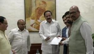 4 TDP MPs merge in BJP in Rajya Sabha