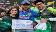 Indian fan wins Pakistan's heart after spotted cheering for men in green; see pics