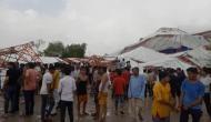 बाड़मेर में रामकथा के दौरान गिरा पांडाल, 14 लोगों की मौत 50 घायल, सीएम ने दिए जांच के आदेश