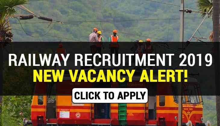 RRB Recruitment 2019: Over 2000 new vacancies released for JE