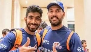 Jasprit Bumrah trolls his former teammate Yuvraj Singh on Instagram