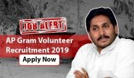 AP Grama Volunteer Recruitment 2019: Hurry up! Only two days left to apply for over 4 lakh vacancies