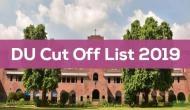DU Cut Off List 2019: Varsity to release second merit list for PG admissions; check details