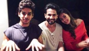 Shahid Kapoor celebrates Kabir Singh success with wifey Mira and brother Ishaan Khatter; watch video