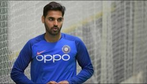 Good news for India ahead of West Indies clash, Bhuvneshwar Kumar returns to training- watch video