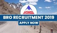 BRO Recruitment 2019: 540 vacancies released by Ministry of Defence; check post details