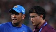 Happy that Indian cricket got MS Dhoni, he's unbelievable: Sourav Ganguly