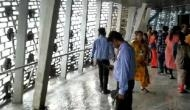 Video: Rainwater pours inside Statue of Unity viewing gallery