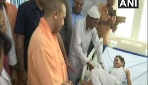 CM Yogi Adityanath visits hospital in Moradabad for inspection