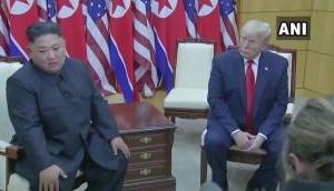 Donald Trump, Kim Jong Un meets at Inter-Korean border--watch video