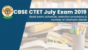 CTET 2019: सीटेट परीक्षा का रिजल्ट जारी, 3.52 लाख हुए पास