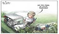 दुनिया को झकझोर देने वाली तस्वीर पर बनाया था ट्रंप का कार्टून, अब नौकरी से धोना पड़ा हाथ