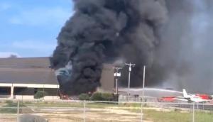 Plane crash in Texas during takeoff, 10 killed
