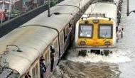 Mumbai rains: Amid heavy downpour, suburban trains suspended