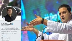 राहुल गांधी अब Twitter पर भी नहीं रहे कांग्रेस अध्यक्ष, लिखी दिल छूने वाली बात