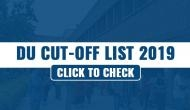 DU Cut off List 2019: Get ready to check second cut-off list today; read important details