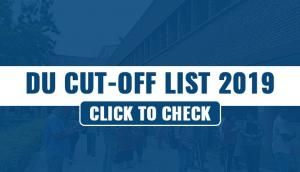 DU Second Cut off List 2019: Released! Marginal dip in percentage, here's how to check stream wise merit list