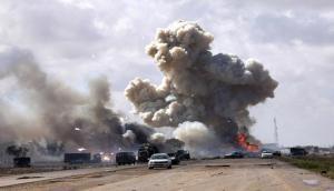 Libyan official says airstrike kills 40 migrants in Tripoli