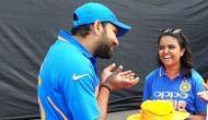 रोहित शर्मा की बल्लेबाजी के दौरान हुआ था कुछ ऐसा, इस लड़की से मिलने चले गए हिटमैन