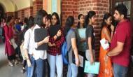 DU Admission 2020 : दिल्ली विश्वविद्यालय में 'कॉलेज ऑफ वोकेशनल स्टडीज' के लिए पहली कट ऑफ लिस्ट जारी