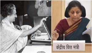 Before Nirmala Sitharaman, first female Finance minister Indira Gandhi made these announcement in Union budget