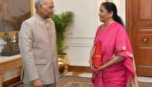 Ahead of Budget presentation, Nirmala Sitharaman calls on President Kovind