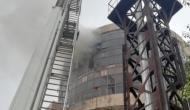 Delhi: Fire breaks out at DGHS Office in Karkardooma