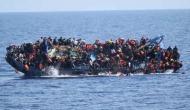 लीबिया से इटली जा रही शरणार्थियों से भरी नाव पलटी, 82 लोगों के डूबने की आशंका