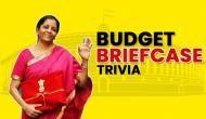 No Briefcase: FM Nirmala Sitharaman adorns budget documents in red cloth folder 'Bahi Khata'