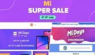 Mi Days Sale : इन फोन्स पर मिल रहा भारी डिस्काउंट, इस दिन तक चलेगी सेल
