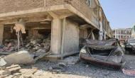 तालिबान आतंकियों ने कार में किया बम धमाका, 8 सुरक्षाकर्मियों समेत 12 की मौत