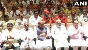 BJP Parliamentary Party meeting held at Parliament Library Building