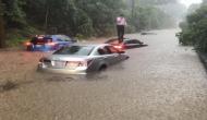 अमेरिका में बाढ़ से सभी सुविधा हुई ठप, व्हाइट हाउस में घुसा पानी, सड़कें बनीं नदियां