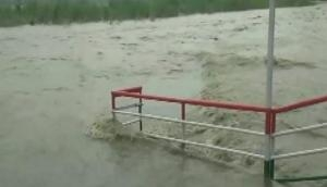 Uttrakhand: Ganga close to danger mark due to heavy downpour in Rishikesh