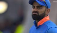Virat Kohli was dismissed for a single-digit score in all three World Cup semi-finals he played