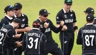 New Zealand beat India by 18 runs to reach their second consecutive World Cup final
